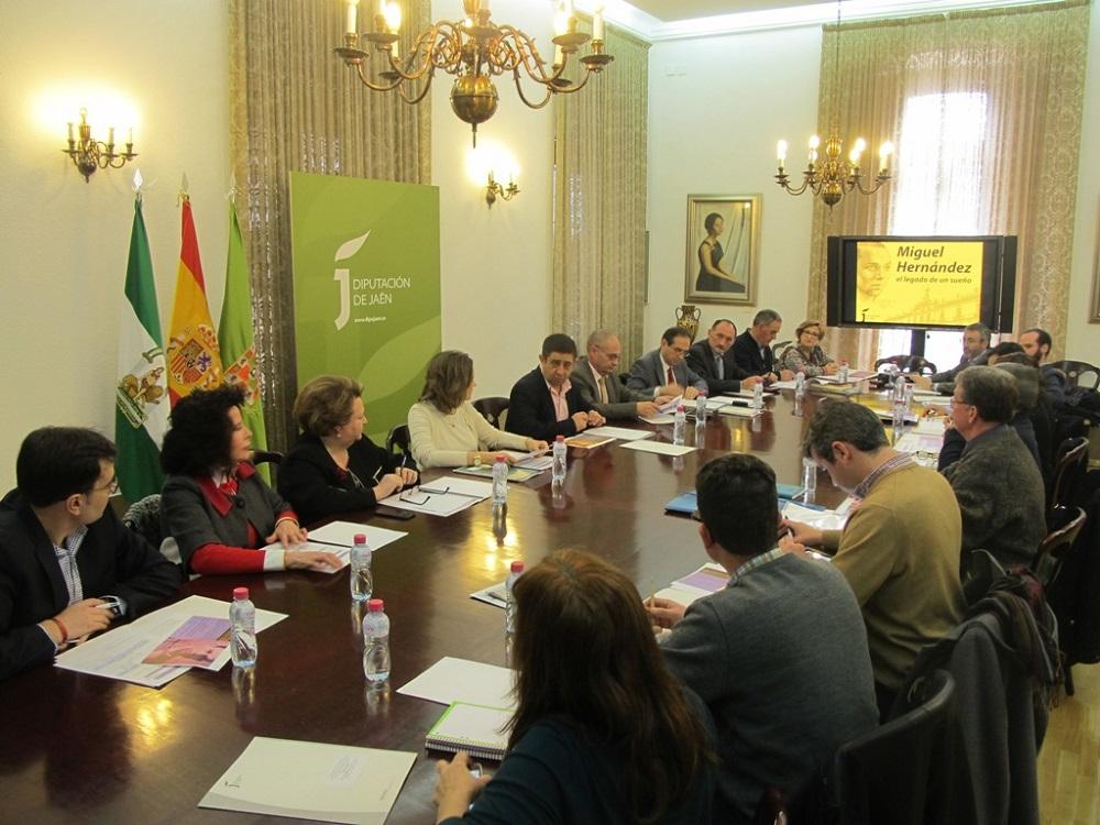 Orihuela, presente en el comité organizador del 75º aniversario del fallecimiento de MH de Jaén