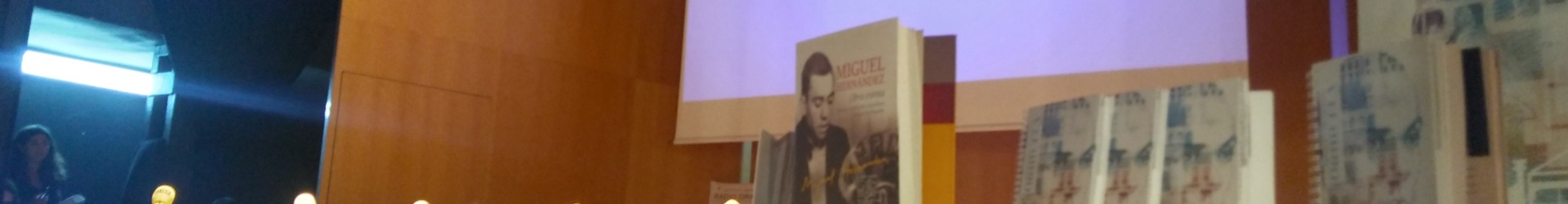 La Cadena SER recuerda en Orihuela a Miguel Hernández en el 75 aniversario de su muerte.
