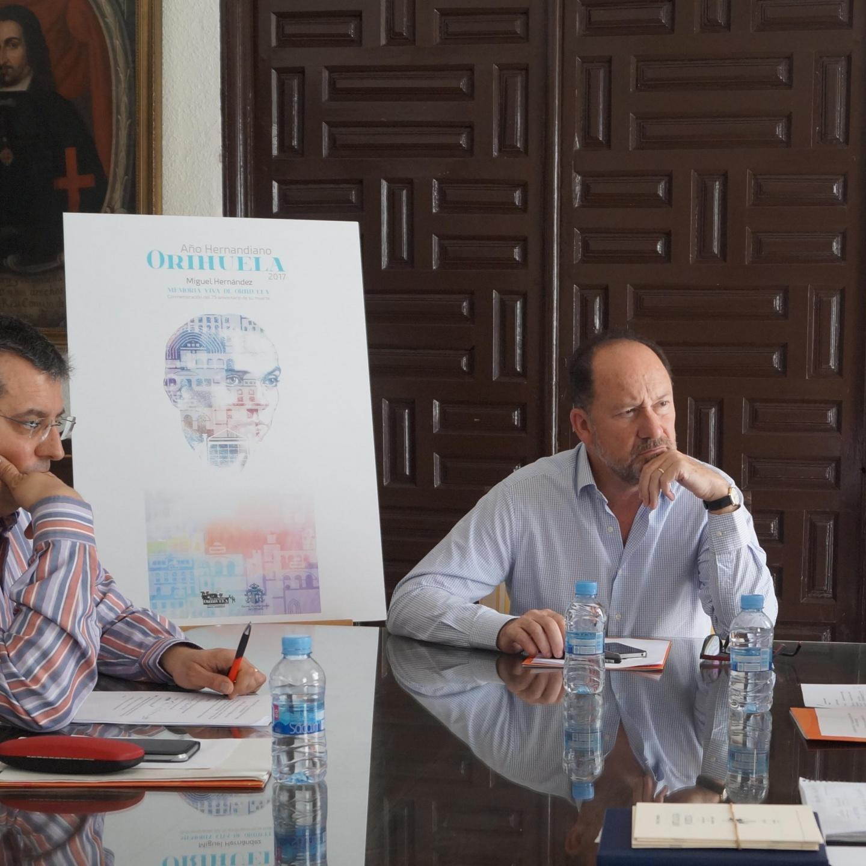 Reunión de trabajo preparatoria del IV Congreso Internacional Miguel Hernández.